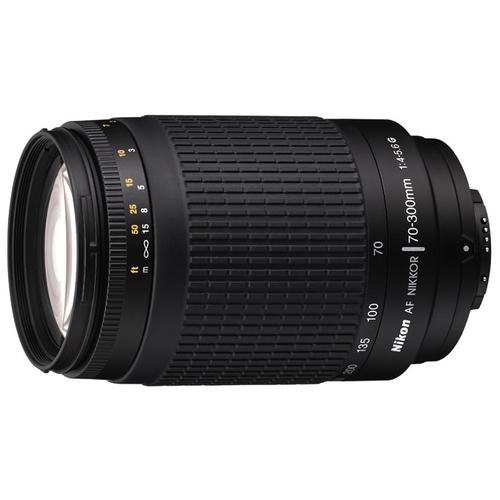 Объектив Nikon 70-300mm f/4-5.6G Zoom-Nikkor