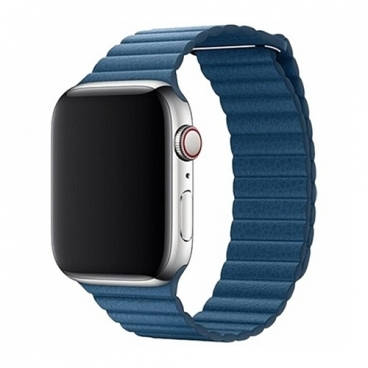 Devia Ремешок кожаный Leather Magnet Band для Apple Watch 38/40mm