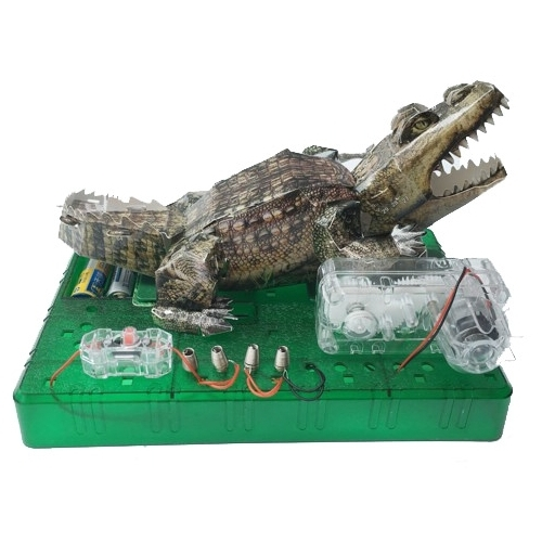 Электронный конструктор ND Play 3D 277390 Крокодил