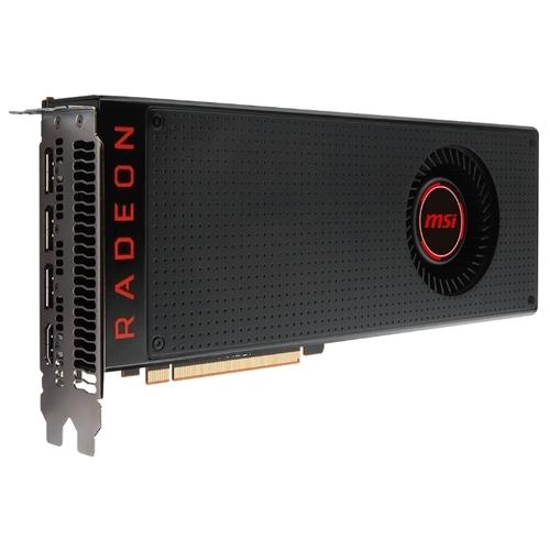 Видеокарта MSI Radeon RX Vega 56 1156MHz PCI-E 3.0 8192MB 1600MHz 2048 bit HDMI HDCP