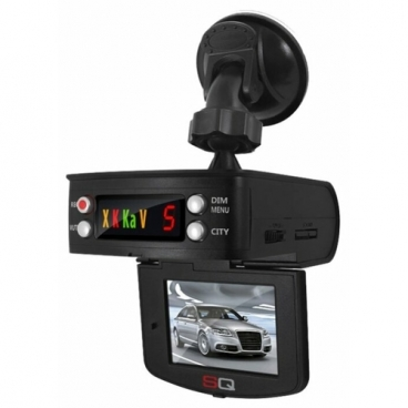 Видеорегистратор с радар-детектором Sound Quest Combo GRB-7, GPS