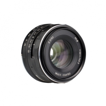 Объектив Meike 50mm f/2 E-Mount