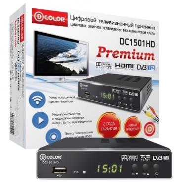TV-тюнер D-COLOR DC1501HD