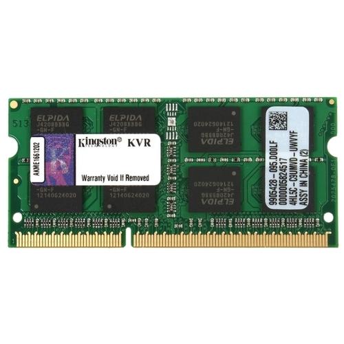 Оперативная память 4 ГБ 1 шт. Kingston KVR16S11/4