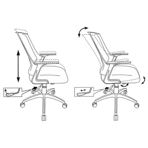 Компьютерное кресло Бюрократ CH-500 офисное