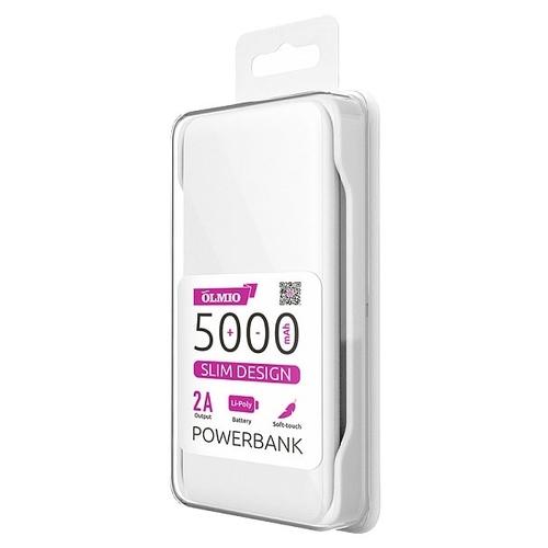 Аккумулятор OLMIO Slim 5000mAh