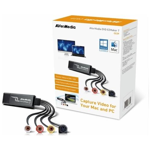 Устройство видеозахвата AVerMedia Technologies DVD EZMaker 7