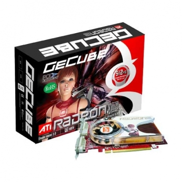 Видеокарта GeCube Radeon X1600 Pro 500Mhz PCI-E 256Mb 780Mhz 128 bit 2xDVI TV YPrPb