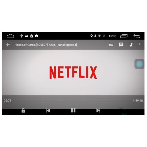 Автомагнитола Parafar 4G/LTE Nissan Xtrail / Qashqai 2014+ DVD Android 7.1.1 (PF988D)