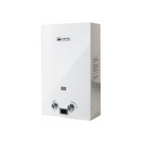 Проточный газовый водонагреватель Wert 10E White