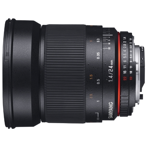 Объектив Samyang 24mm f/1.4 ED AS UMC Canon M