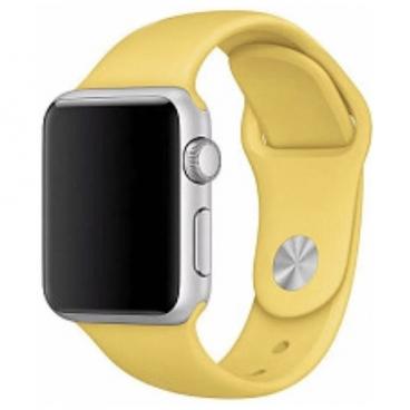 Karmaso Ремешок для Apple Watch 42 мм спортивный желтый