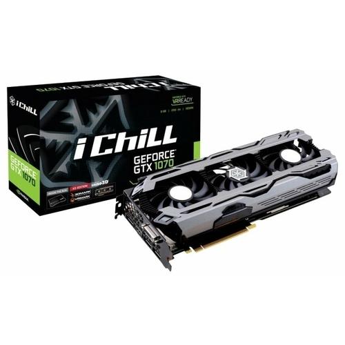 Видеокарта INNO3D GeForce GTX 1070 1620Mhz PCI-E 3.0 8192Mb 8200Mhz 256 bit DVI HDMI HDCP X3