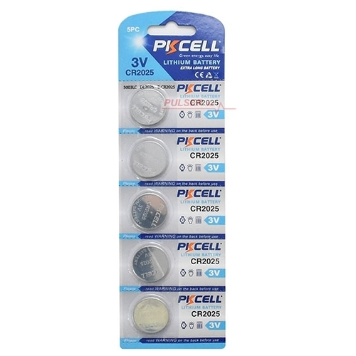 Батарейка PKCELL Lithium Button Cell CR2025