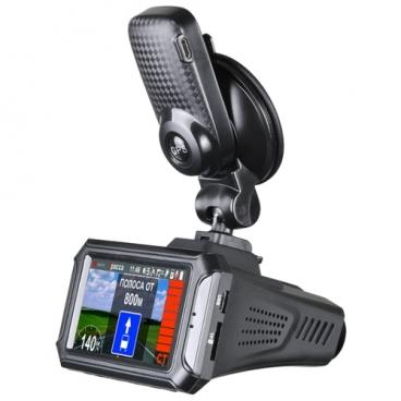 Видеорегистратор с радар-детектором Intego Hunter II, GPS