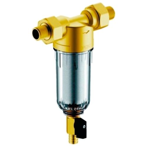 Фильтр механической очистки Гейзер Бастион 111 1/2 муфтовый (НР/НР), латунь