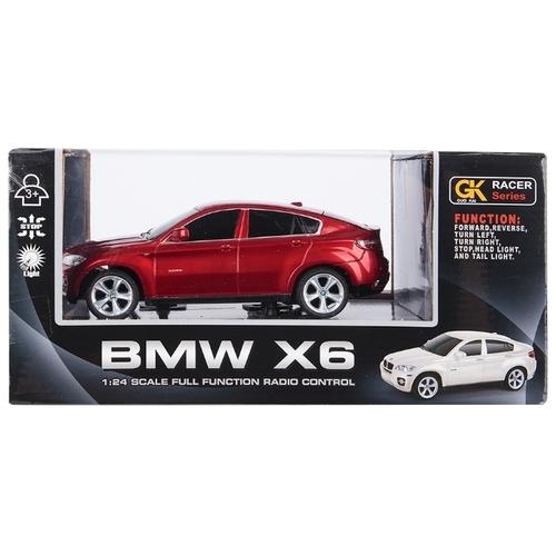 Легковой автомобиль GK Racer Series BMW X6 (866-2404) 1:24 19 см