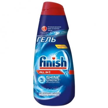 Finish All in 1 гель для посудомоечной машины