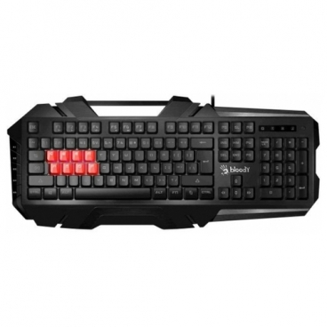 Клавиатура A4Tech B3590R Gamer LED Black-Grey USB