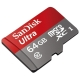 Карта памяти SanDisk Ultra microSDXC Class 10 UHS-I 48MB/s 64GB + SD adapter