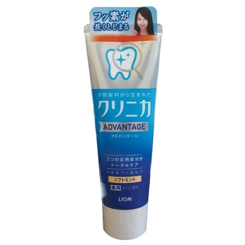 Зубная паста Lion Clinica Advantage Мягкая мята