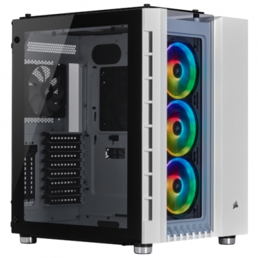 Компьютерный корпус Corsair Crystal Series 680X RGB White