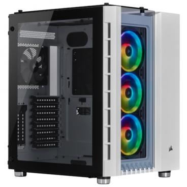 Компьютерный корпус Corsair Crystal Series 680X RGB White