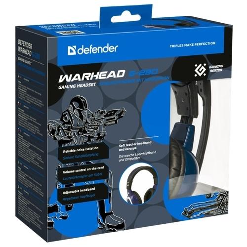 Компьютерная гарнитура Defender Warhead G-280