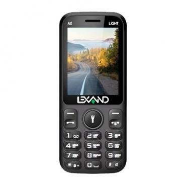Телефон LEXAND A3 Light