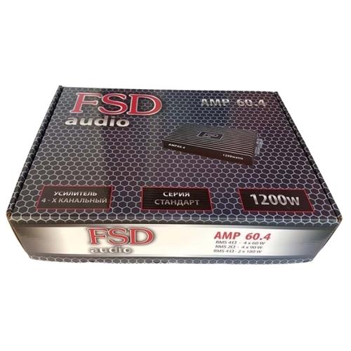 Автомобильный усилитель FSD audio STANDART AMP 60.4