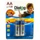 Батарейка Dialog Super Heavy Duty AA