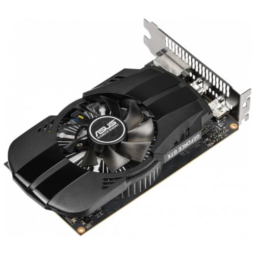 Видеокарта ASUS PHOENIX GeForce GTX 1650 1485MHz PCI-E 3.0 4096MB 8002MHz 128 bit DVI DisplayPort HDMI HDCP OC