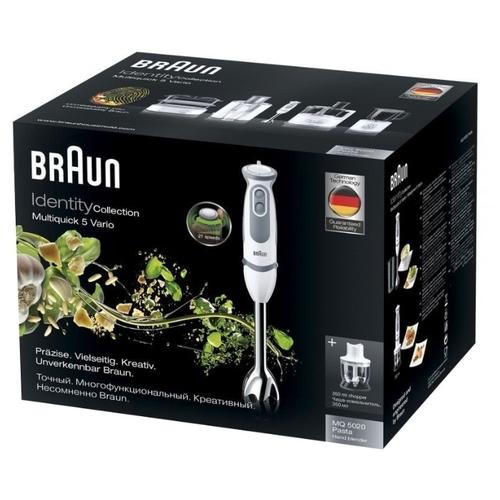 Погружной блендер Braun MQ 5020 WH Pasta