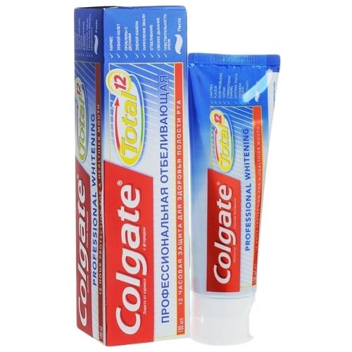 Зубная паста Colgate Total 12 Профессиональная отбеливающая