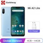 9353.52 руб. |Глобальная версия Xiaomi Mi A2 Lite 4 ГБ ОЗУ 64 Гб ПЗУ Смартфон Snapdragon 625 Восьмиядерный 5,84