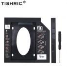 TISHRIC пластиковый жесткий диск Caddy 9,5/12,7 мм SATA 3,0 Optibay 2,5 ''SSD DVD жесткий диск драйвер CD-ROM корпус адаптера