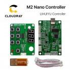 647.43 руб. 5% СКИДКА|Cloudray LIHUIYU M2 Nano лазерный контроллер мать основная плата + Управление Панель + ключ B Системы гравер Cutter DIY 3020 3040 K40 купить на AliExpress
