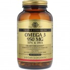 Solgar, Omega-3, EPA & DHA, Triple Strength, 950 mg, 100 Softgels