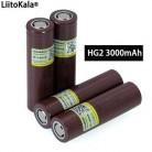 100% Новый оригинальный аккумулятор HG2 18650 3000 мАч 18650HG2 3,6 V разрядка 20A, предназначенная для hg2 аккумуляторной батареи