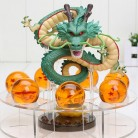 US $24.48 18% OFF|Dragon Ball Z Shenron PVC Action Figures Toys Golden Green Dragon 7Pcs 3.5cm Dragonball Z Crystal Balls + Shelf Great Gift-in Action & Toy Figures from Toys & Hobbies on Aliexpress.com | Alibaba Group