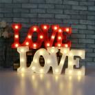 483.22 руб. 40% СКИДКА|Романтический 3D Любовь светодиодный буквенный знак ночник шатер теплый свет настольная лампа фонари ночные светильники для свадебного декора подарки для любимых-in Ночники from Лампы и освещение on Aliexpress.com | Alibaba Group