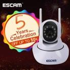 2035.11 руб. |ESCAM G02 двойной антенны 720 P панорамирования/наклона Wi Fi ip ик Камера Поддержка ONVIF макс до 128 ГБ видео монитор IP камера купить на AliExpress