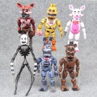 14.5 17cm 6pcs/lot PVC Five Nights At Freddy's Action Figure FNAF Bonnie Foxy Freddy Fazbear Bear Dolls Toys-in Action & Toy Figures from Toys & Hobbies on Aliexpress.com | Alibaba Group