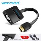 261.87руб. 35% СКИДКА|Vention HDMI в VGA адаптер цифро аналоговый видео аудио конвертер кабель 1080p для Xbox 360 PS3 PS4 ПК ноутбук ТВ коробка проектор on AliExpress - 11.11_Double 11_Singles' Day