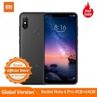 11688.8 руб. |Xiaomi Redmi Note 6 Pro 4 GB 64 GB Snapdragon 636 6,26 ''глобальная версия AI двойная камера 20MP 2MP фронтальная камера 4000 mAh мобильный телефон-in Мобильные телефоны from Мобильные телефоны и телекоммуникации on Aliexpress.com | Alibaba Group