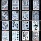 117.1 руб. 10% СКИДКА|A4 A3 A2 Размеры Трафареты для настенная живопись