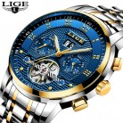 Relogio Masculino LIGE Mens Watches Top Brand Luxury Automatic Mechanical Watch Men Full Steel Business Waterproof Sport Watches-in Mechanical Watches from Watches on Aliexpress.com | Alibaba Group