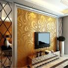 2255.65 руб. 22% СКИДКА|Q qihang 3D абстрактный кривая Современная роскошь стекаются полосатый обои Золото 0.7 м * 8.4 М = 5.88m2-in Обои from Товары для дома on Aliexpress.com | Alibaba Group
