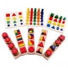 1559.28руб. 7% СКИДКА|Детские игрушки Монтессори сенсорные игрушки 1 лот = 8 штук раннее образование Дошкольное обучение детские игрушки-in Блоки from Игрушки и хобби on AliExpress - 11.11_Double 11_Singles' Day
