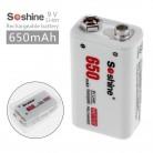 513.5 руб. 28% СКИДКА|Soshine 9 V 650 mAh перезаряжаемая литиевая батарея 6F22 литий ионная батарея для мультиметра рация беспроводной микрофон + батарейный блок-in Подзаряжаемые батареи from Бытовая электроника on Aliexpress.com | Alibaba Group
